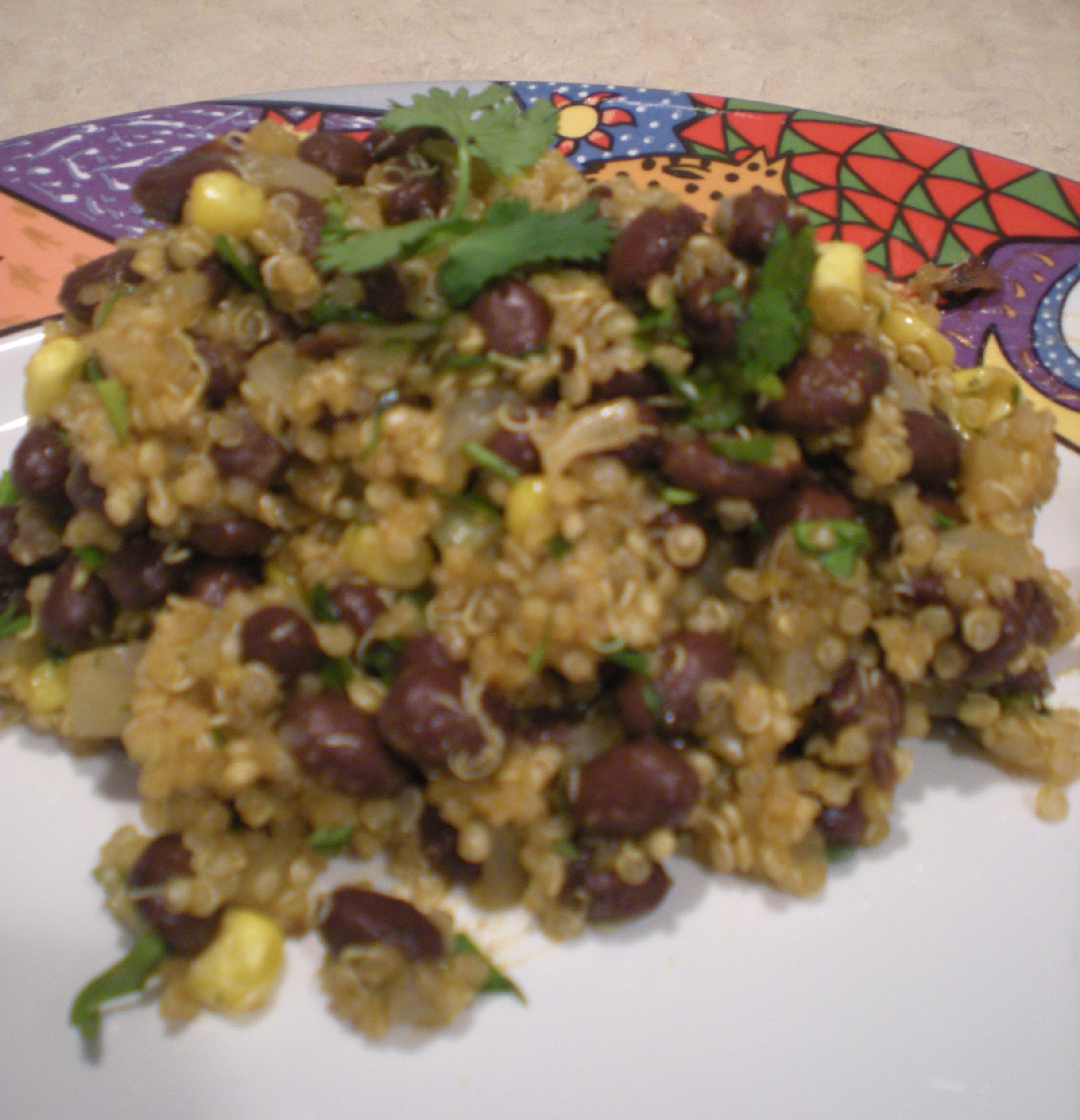 Recipe of the Week – Quinoa and Black Beans with Oven-Roasted ...